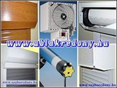Kölső tokos, vakolható tokos és belsőtokos műanyag és hőszigetelt alumínium redőnyök.
